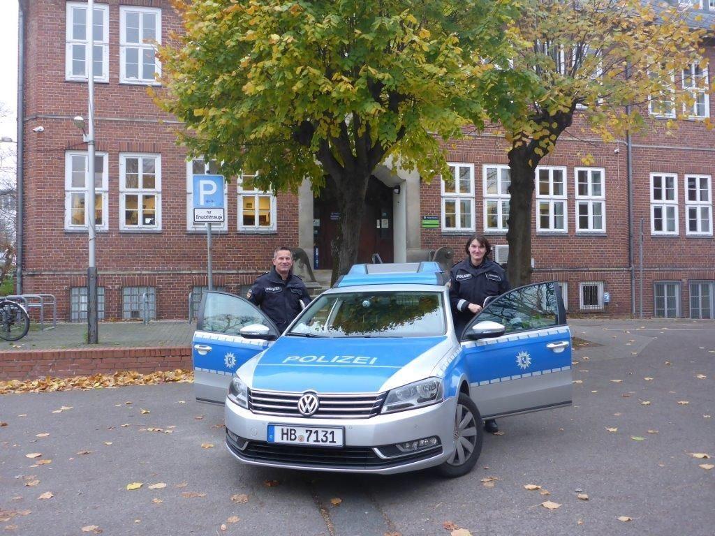 Polizeirevier Steintor - Die KOPs packen aus